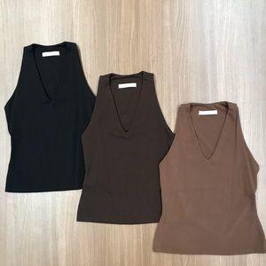 Susana Monaco trio tops (all 3 included)